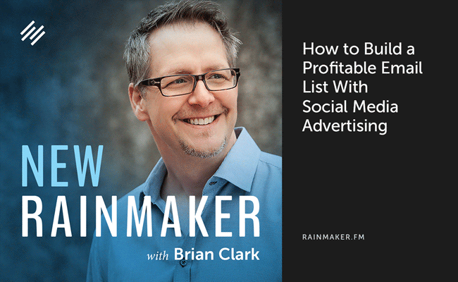 How to Build a Profitable Email List With Social Media Advertising