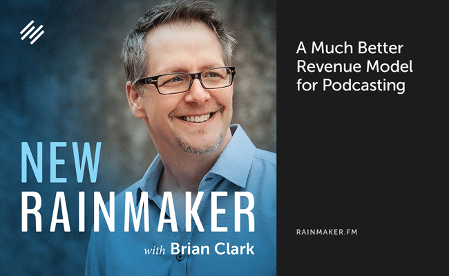 A Much Better Revenue Model for Podcasting