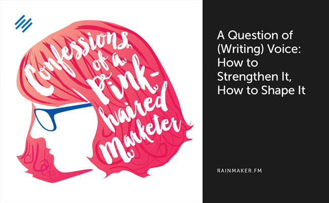 b00e7fff339 Confessions of a Pink-Haired Marketer