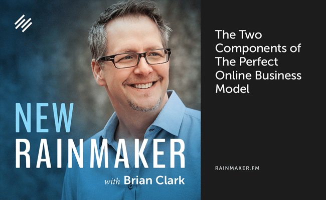 The Two Components of The Perfect Online Business Model