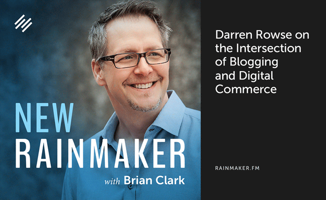 Darren Rowse on the Intersection of Blogging and Digital Commerce