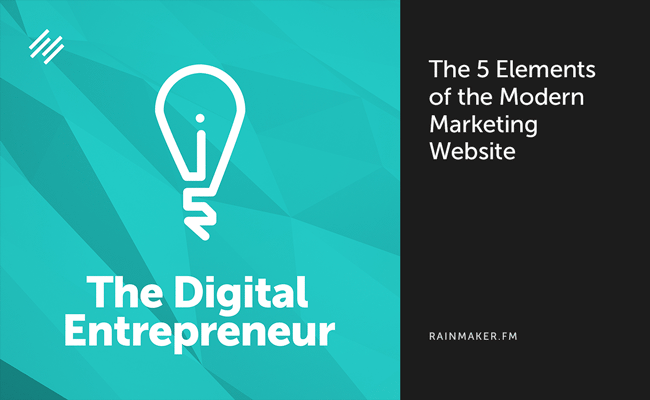 The 5 Elements of the Modern Marketing Website
