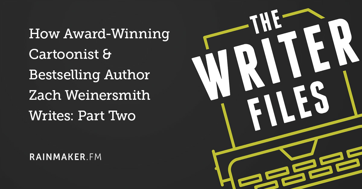 How Award-Winning Cartoonist & Bestselling Author Zach Weinersmith Writes: Part Two