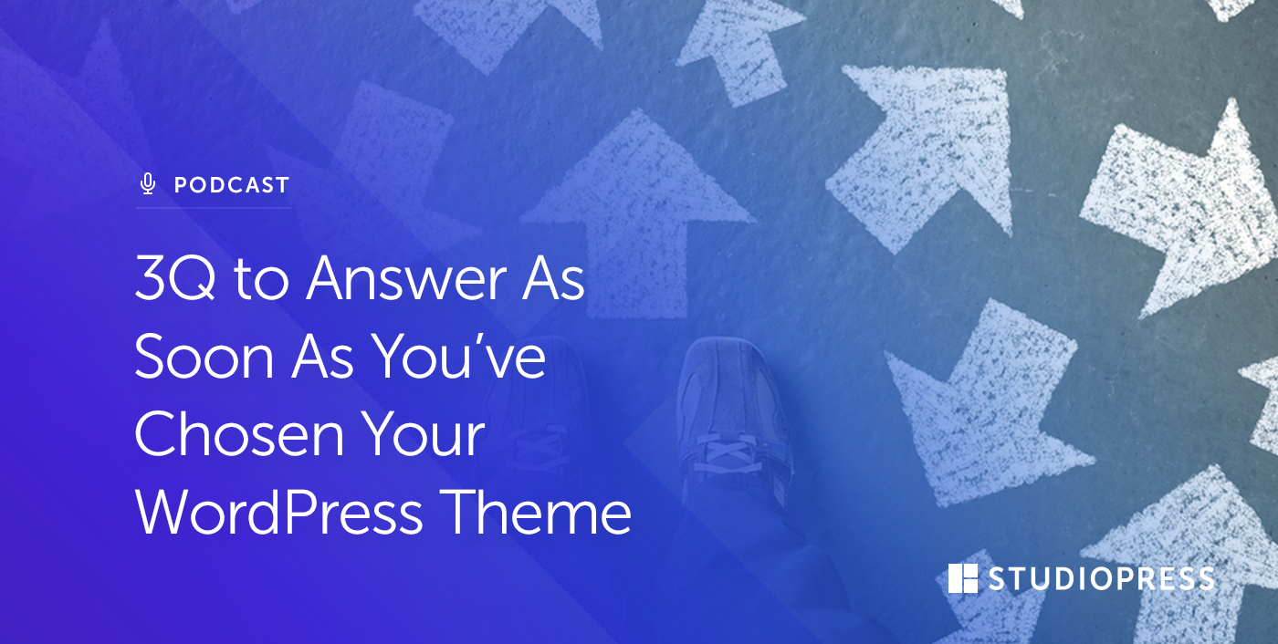 [44] 3Q to Answer As Soon As You ve Chosen Your WordPress Theme